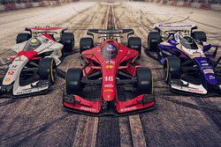 Ferrari, McLaren and Williams 2025 fantasy F1 concepts