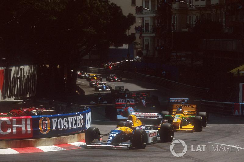 В сезоне-1992 пилот Williams Найджел Мэнселл выиграл все первые пять гонок сезона, и его победа на Гран При Монако не стала бы сюрпризом