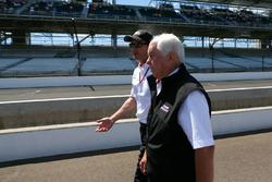 Roger Penske and Tim Cindric