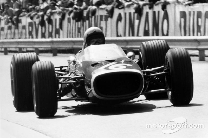 1967: McLaren M4B BRM (одно четвертое место)