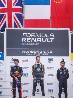Yi Fei Ye, Josef Kaufmann Racing, On podium