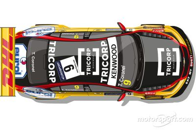 Tom Coronel announcement