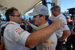 Sven Smeets, Jan-Gerard de Jongh, Sébastien Ogier, Volkswagen Motorsport