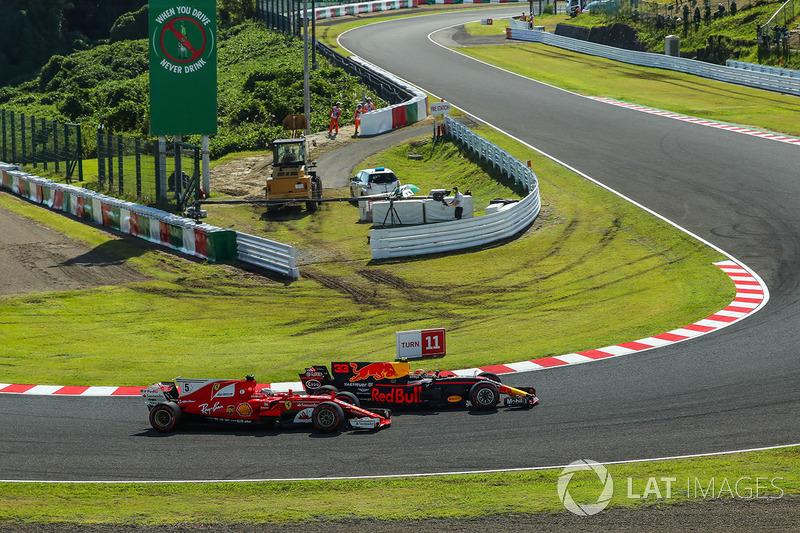 Com a vitória de Hamilton, Vettel ficou 59 pontos atrás do inglês na tabela. Isso significa que o piloto da Mercedes pode matar a disputa já na próxima corrida, nos Estados Unidos.