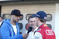 JP Krämer, Tuning specialist with Tom Kristensen and Mattias Ekström, Audi Sport Team Abt Sportsline, Audi A5 DTM