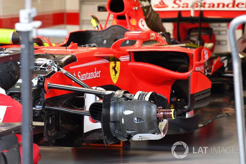 Ferrari SF70H front wheel hub