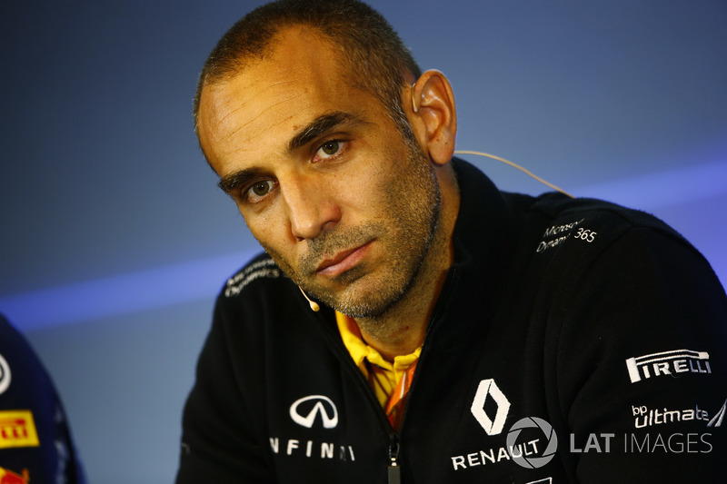 Cyril Abiteboul, Managing Director, Renault Sport F1 Team, in the FIA Press Conference