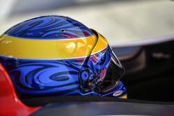 Sébastien Bourdais, Dale Coyne Racing Honda helmet