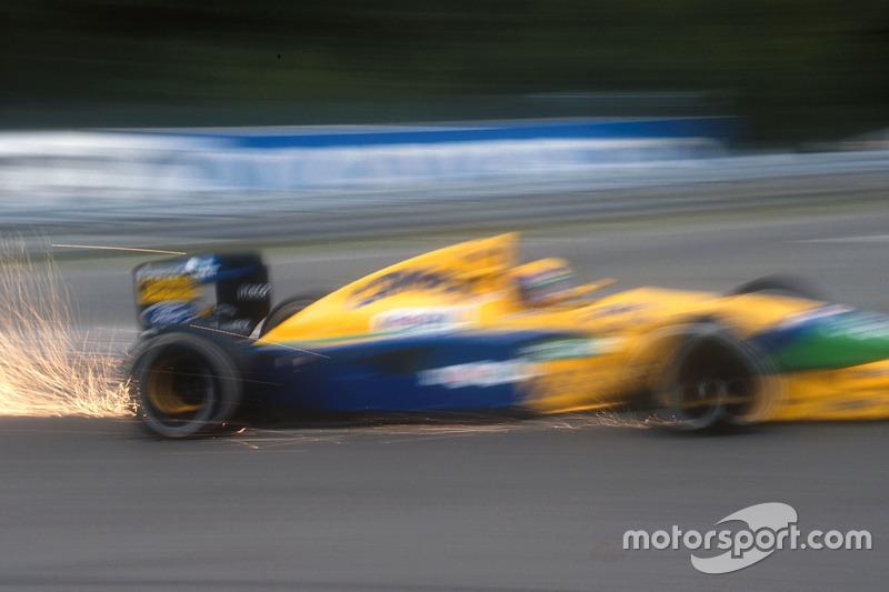 Funkenflug: Roberto Moreno, Benetton B191 Ford