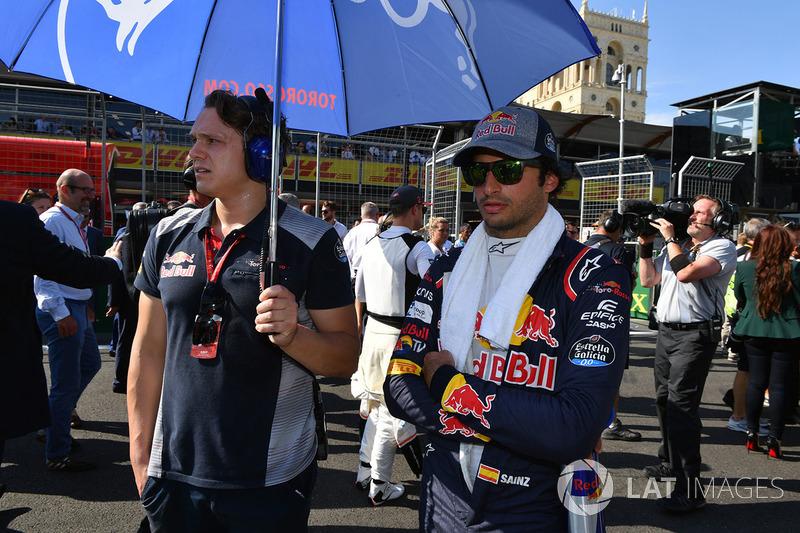 8. Карлос Сайнс, Scuderia Toro Rosso