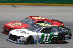 Blake Koch, Kaulig Racing Chevrolet, Harrison Rhodes, JD Motorsports Chevrolet