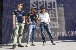 Daniil Kvyat, Scuderia Toro Rosso ve Carlos Sainz Jr., Scuderia Toro Rosso
