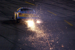 John Andretti sending up a shower of sparks