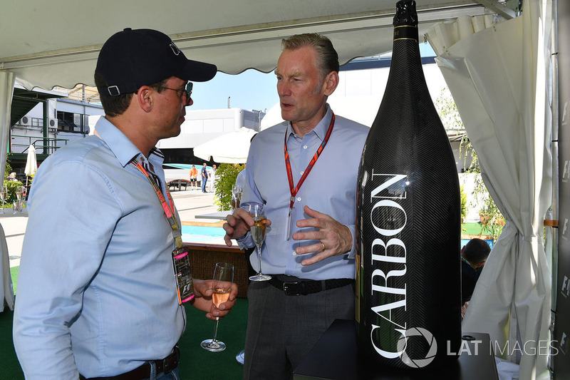 Alex Mea y Sean Bratches, Formula One Managing Director Comercial
