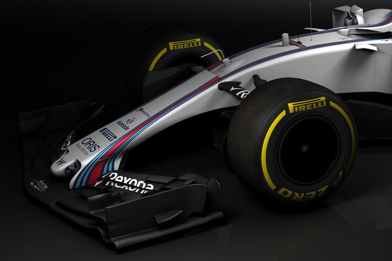 Williams FW40 detalle alerón delantero