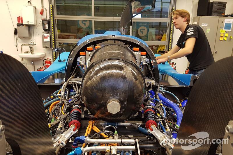 Forze VII, waterstofracer van Forze Delft