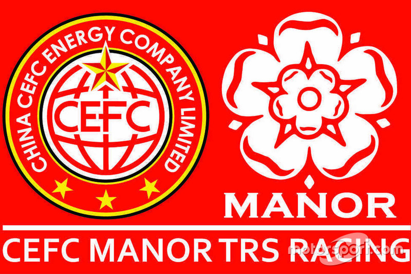 Logo CEFC Manor TRS Racing