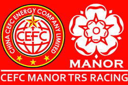 CEFC Manor TRS Racing logo