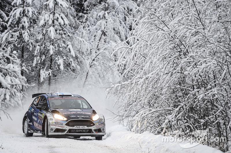 Teemu Suninen, Mikko Markkula, Ford Fiesta R5, M-Sport