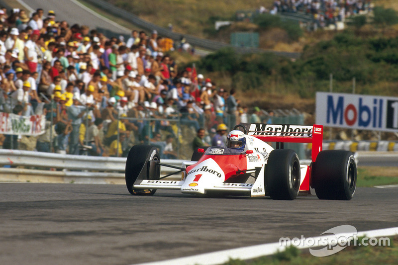 #1: Alain Prost, McLaren MP4/3, TAG-Porsche