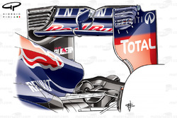 Red Bull RB9 rear wing