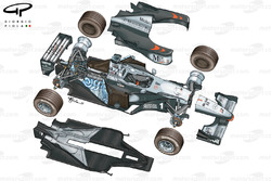 McLaren MP4-14 1999 exploded view