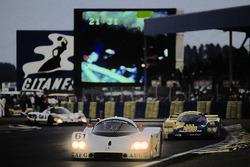 #61 Team Sauber Mercedes, Sauber C9 Mercedes-Benz: Mauro Baldi, Kenny Acheson, Gianfranco Brancatelli