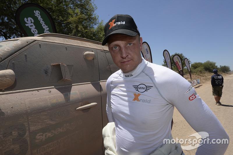 Mikko Hirvonen, X-Raid Team Mini