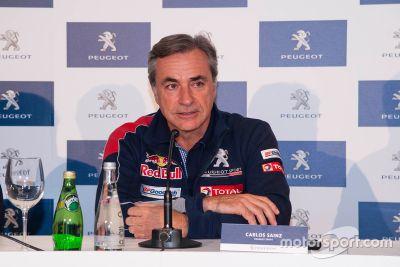 Carlos Sainz Dakar tanıtımı