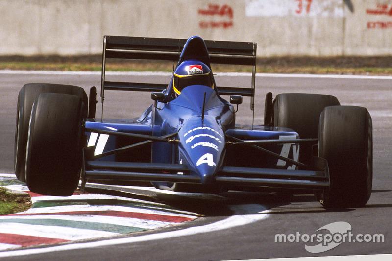 Мікеле Альборето, Tyrrell Racing 018 Ford