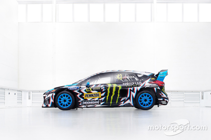 El coche de Ken Block, Hoonigan Racing Division, Ford Focus