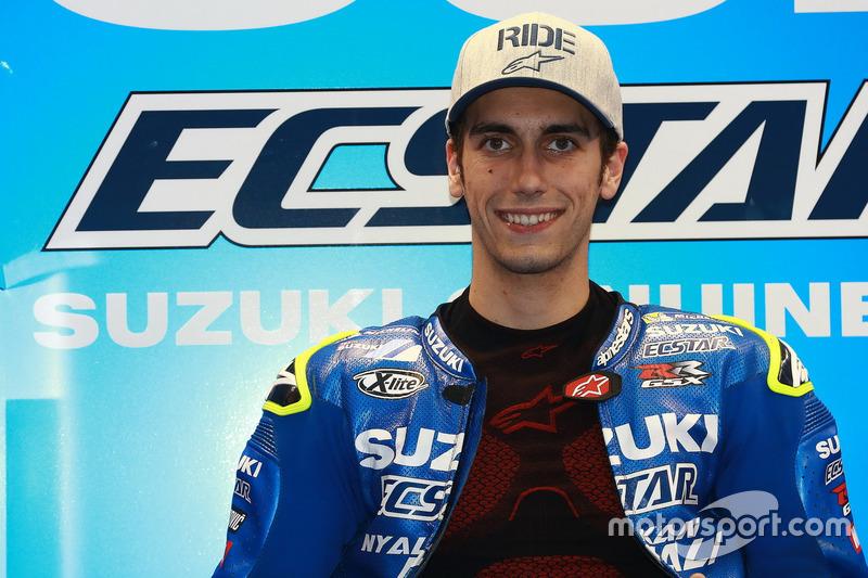 MotoGP. Самый молодой: Алекс Ринс, Suzuki Ecstar (21 год)
