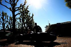Juan Manuel Fangio heykeli