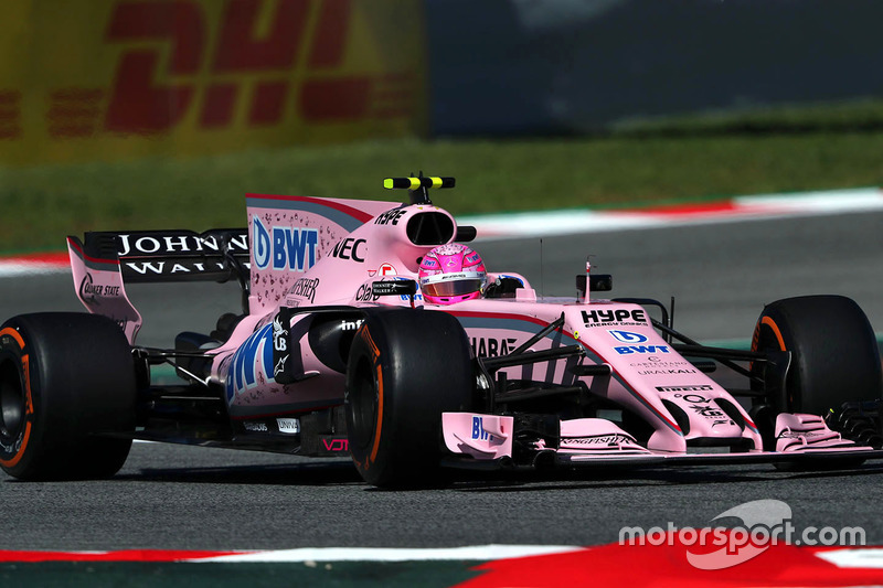 Естебан Окон, Force India Mercedes
