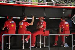 Головний інженер Ferrari Джок Кліа на командному містку