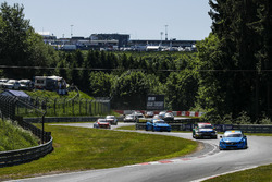 Start action, Nestor Girolami, Polestar Cyan Racing, Volvo S60 Polestar TC1 leads