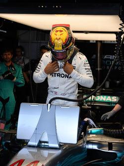 Lewis Hamilton, Mercedes-Benz F1 W08 Hybrid Formula One World Championship, Rd6, Monaco Grand Prix, Race, Monte-Carlo, Monaco, Sunday 28 May 2017.