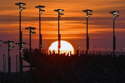 Sunset over Darlington