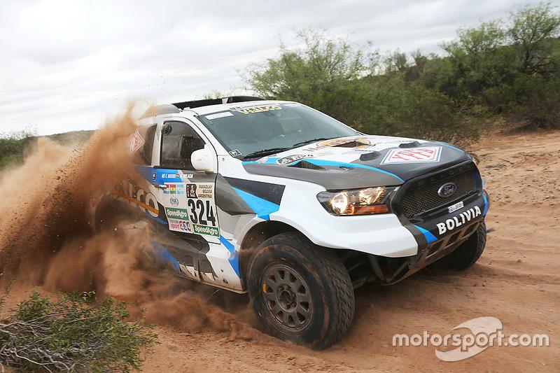#324 Ford: Marco Bulacia, Claudio Bustos