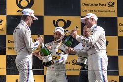 Podium: 1. Timo Glock, BMW Team RMG, BMW M4 DTM, 2.Marco Wittmann, BMW Team RMG, BMW M4 DTM, 3. Maxime Martin, BMW Team RBM, BMW M4 DTM