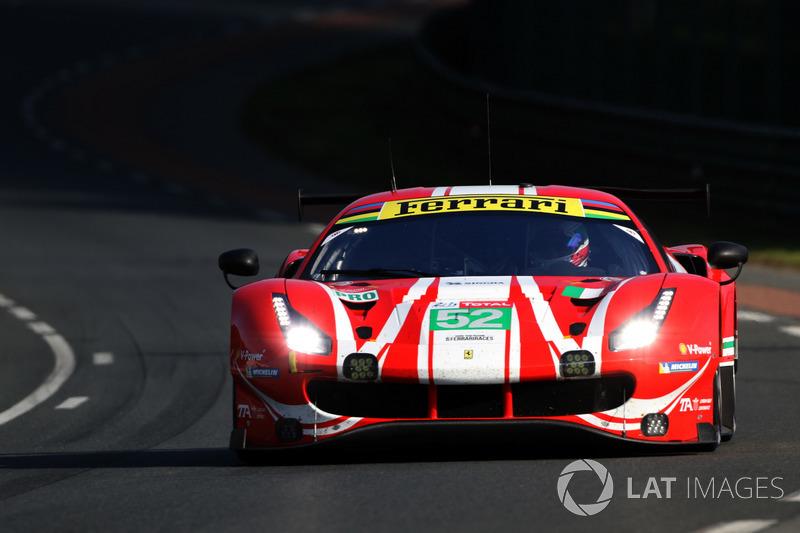 46: #52 AF Corse Ferrari 488 GTE EVO: Toni Vilander, Antonio Giovinazzi, Pipo Derani, 3'50.957