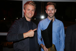 Nico Rosberg mit René Rast, Audi Sport Team Rosberg