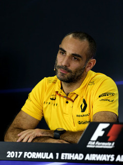 Cyril Abiteboul, directeur général Renault Sport F1 lors de la conférence de presse