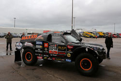 The car of Tim Coronel, Tom Coronel