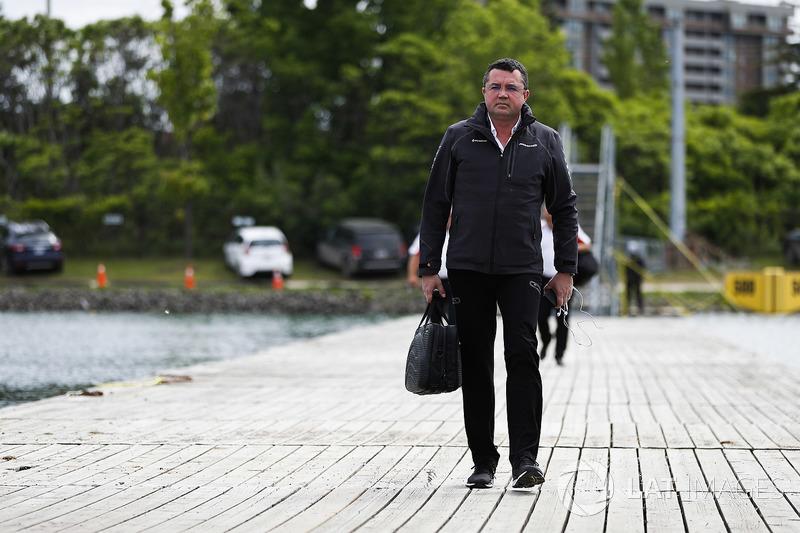 Eric Boullier, director de McLaren competición