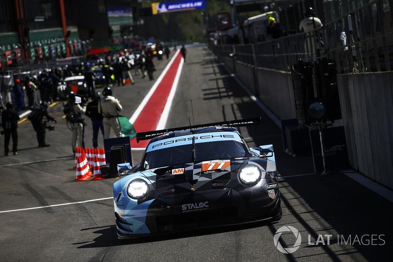 #77 Dempsey Proton Competition Porsche 911 RSR: Christian Ried, Julien Andlauer, Matt Campbell