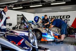 Miembros del equipo United Autosports