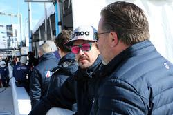Fernando Alonso, United Autosports, Zak Brown