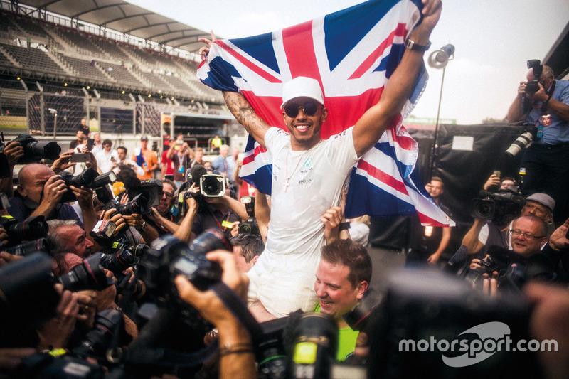 Il Campione del Mondo 2017 Lewis Hamilton, Mercedes AMG F1