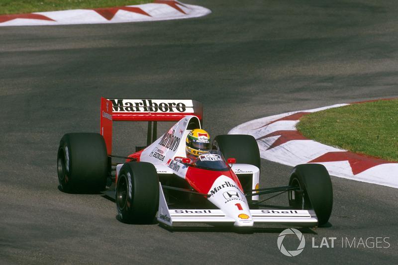 San Marino 1989: Ayrton Senna, McLaren MP4/5